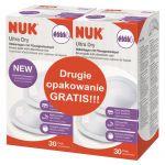 NUK, Wkładki laktacyjne - 2-pack, 2x30 szt.