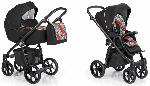 Roan, Esso - wózek głęboko-spacerowy z torbą