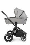 Muuvo, Quick 3.0 Black Chrome - wózek z gondolą Standard i wyposażeniem