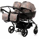 Tako, Corona Duo - wózek głęboko-spacerowy dla dwójki dzieci