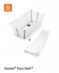 Stokke, Flexi Bath Bundle - wanienka kąpielowa składana z wkładką