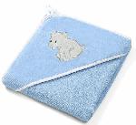 Baby Ono, Okrycie kąpielowe welurowe – ręcznik z kapturkiem 85 x 85 cm - 539