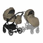 Tutis, Uno 3+ Pastele - uniwersalny wózek głęboko-spacerowy 2 w 1