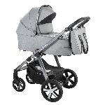 Baby Design, Husky XL - wózek głęboko-spacerowy z torbą
