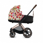 Cybex, Priam 2.0 Fashion Collection - wózek głęboki Spring Blossom Light