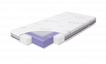 Rucken, Aero - materac pianka antybakteryjna HR 35 + mata 3D 120x60