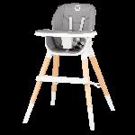 Lionelo, Mona - drewniane krzesełko do karmienia