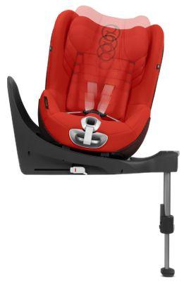 Cybex, Sirona Z i-size - fotelik samochodowy bez bazy dla dzieci o wzroście 45 – 105 cm, do 18 kg  regulowany zagłówek