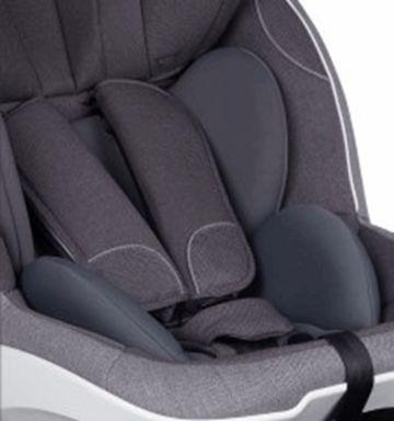 BeSafe, iZi Turn i-Size - fotelik obrotowy od 61cm do 105cm, od 6 m-cy do 4 lat, do 18 kg wkładka