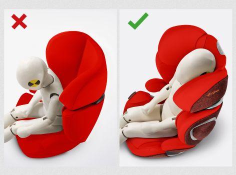 Cybex, Solution Z i-Fix - fotelik samochodowy 15-36 kg odchylany zagłówek