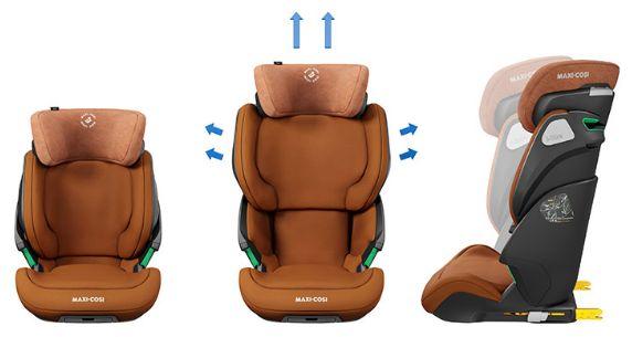 Maxi-Cosi, Kore Pro I-Size - fotelik samochodowy dla dzieci od 100 do 150 cm wzrostu ochrona boczna