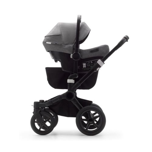 Bugaboo, Donkey3 Twin - wózek głęboko-spacerowy dla bliźniąt z fotelikiem