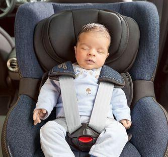 Britax Romer, Dualfix i-Size - obrotowy fotelik samochodowy od urodzenia - 4 lat - 40 - 105 cm - 0 - 18 kg