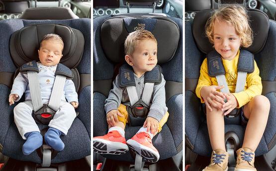 Britax Romer, Swingfix M i-Size - fotelik samochodowy od 3 miesięcy do 4 lat czyli od 61 - 105 cm, do 18 kg