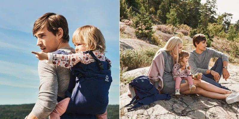 Stokke, MyCarrier - nosidełko przodnie i tylne dla dzieci do 15 kg (do 3 lat)