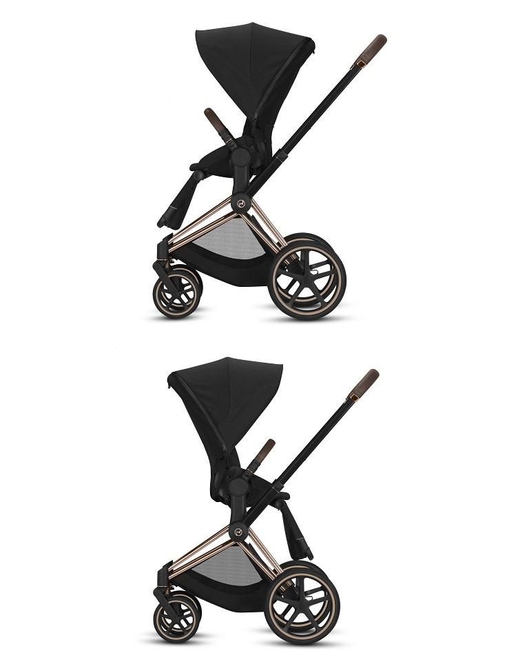 Cybex, Priam 2.0 - wózek spacerowy z odwracanym siedziskiem