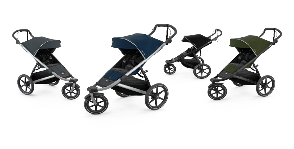 Thule, Urban Glide 2 - trójkołowy wózek do biegania + pałąk do wózka gratis! kolorystyka