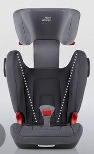 Britax Romer, Kidfix III S - fotelik samochodowy isofix od 3,5 lat - 12 lat, 15 - 36 kg oparcie