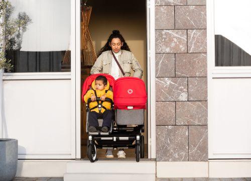 Bugaboo, Donkey3 Duo - wózek głęboko-spacerowy dla dwójki dzieci w różnym wieku mieści się w standardowych drzwiach