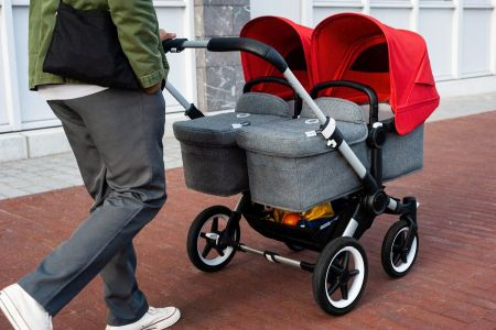 Bugaboo, Donkey3 Twin - wózek głęboko-spacerowy dla bliźniąt