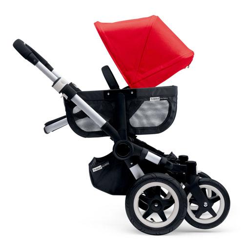 Bugaboo, Donkey3 Duo - wózek głęboko-spacerowy dla dwójki dzieci w różnym wieku pozycja dwukołowa