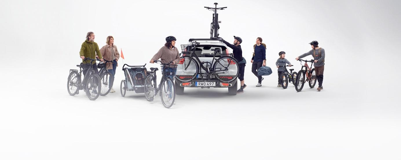 Thule, Urban Glide 2 - trójkołowy wózek do biegania
