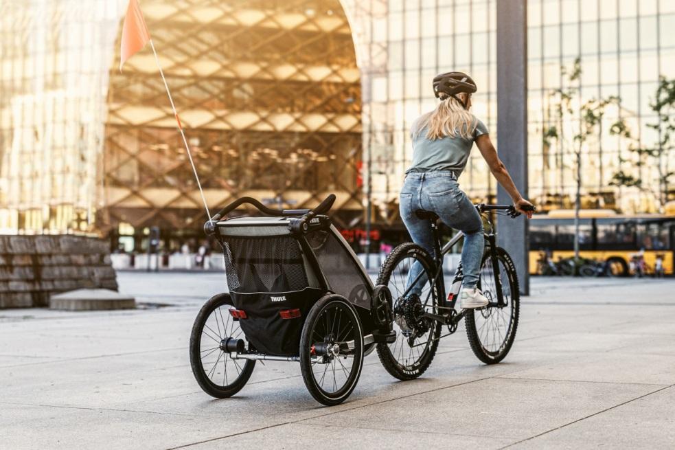 Thule, Chariot Cross 1 - Przyczepka rowerowa dla dziecka do jazdy po mieście