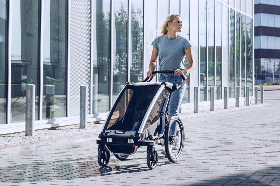 Thule, Chariot Lite 1 - Przyczepka rowerowa dla dziecka na spacer i do biegania