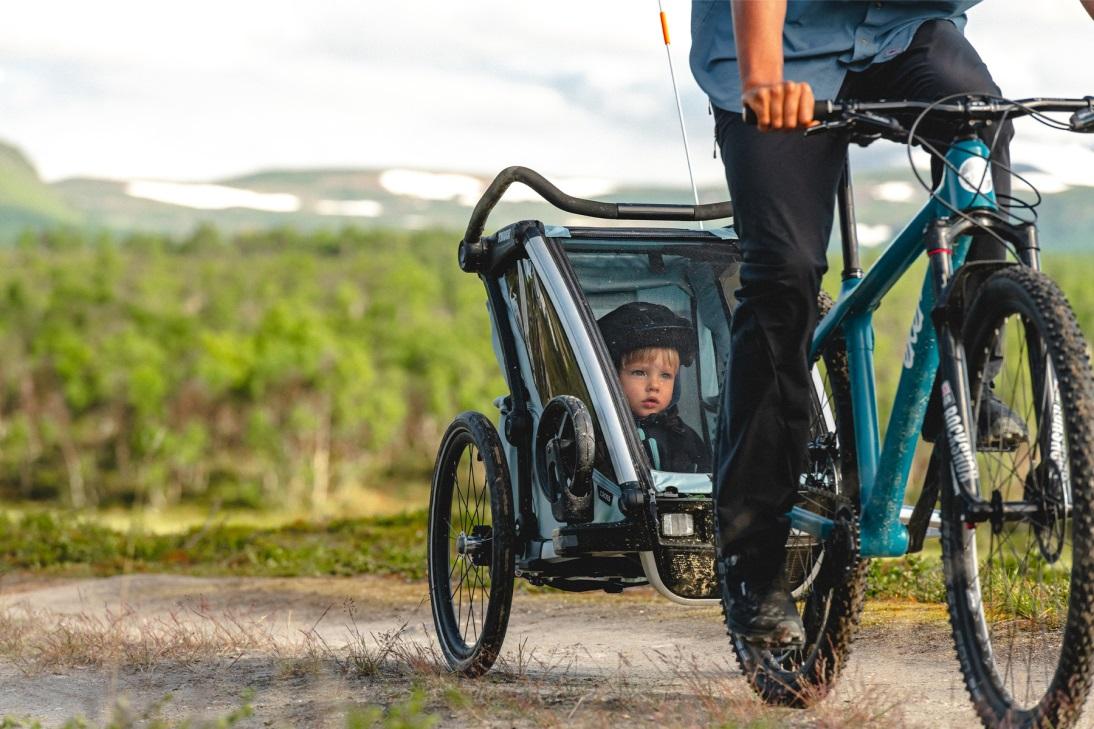 Thule, Chariot Cross 1 - Przyczepka rowerowa dla dziecka na każdy teren