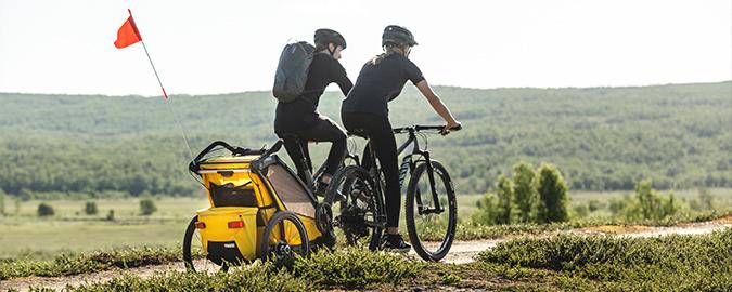 Thule, Chariot Sport 1 - Przyczepka rowerowa dla dziecka do jazdy w każdym terenie