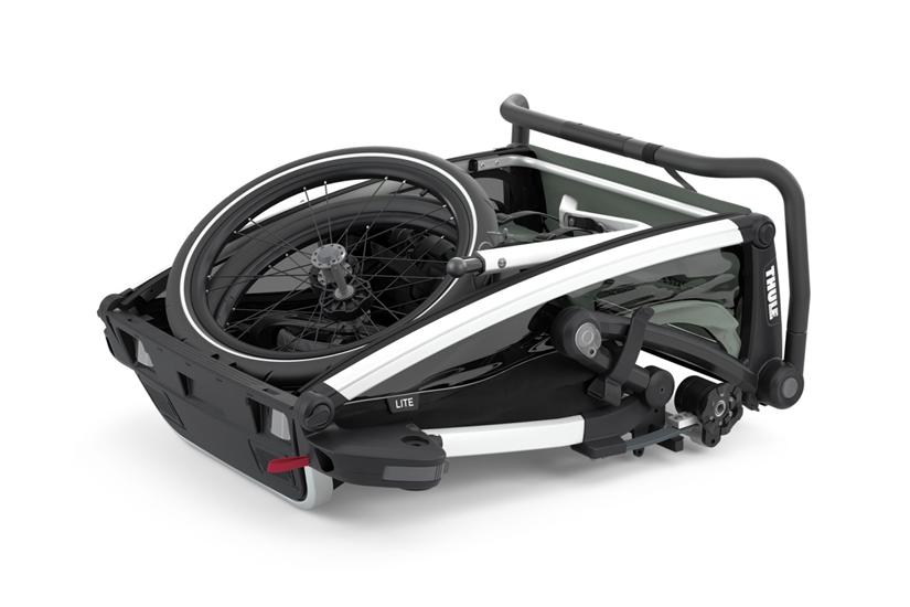 Thule, Chariot Lite 1 - Przyczepka rowerowa dla dziecka system składania