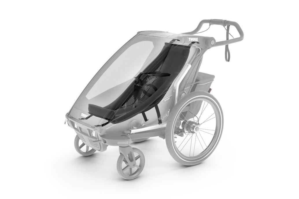 Thule, Chariot Sport 1 - Przyczepka rowerowa dla dziecka z hamaczkiem