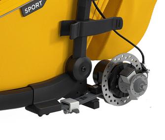 Thule, Chariot Sport 1 - Przyczepka rowerowa dla dziecka z hamulcem ręcznym